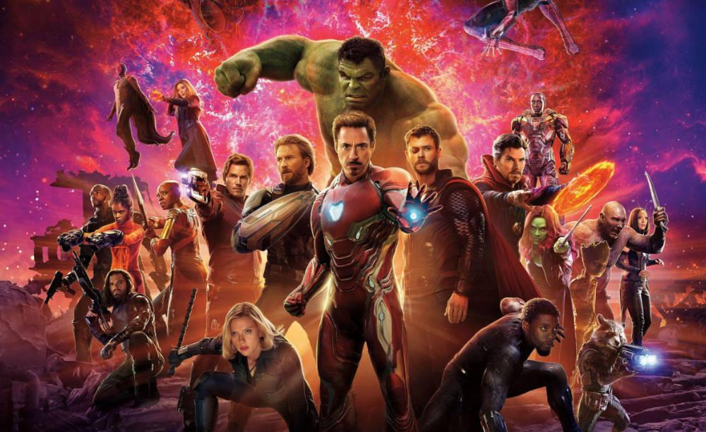 Ultieme volgorde Marvel films